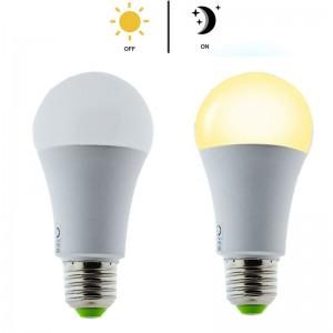 Ampoule LED E27 7W avec capteur de luminosité