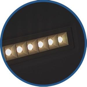 Panneau LED 60x60 cm 36W anti-éblouissement UGR16