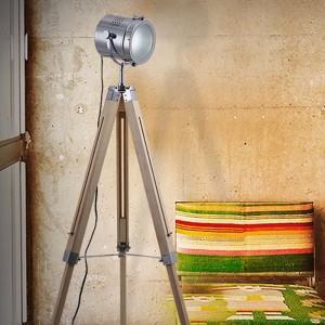 """Lampe sur pied avec trépied """"Bogart"""" XL 120cm"""