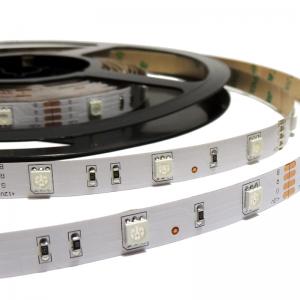 Ruban LED RGB 12V 36W 10mm IP20 SMD5050 30 led/m 5m