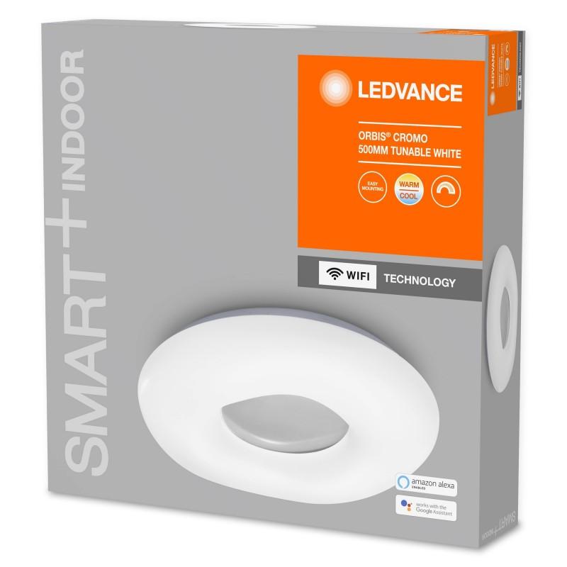 Cardan de Aluminio para dos bombillas QR111 LED Basculante 324x175mm