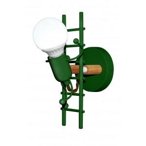 Ampoule LED à Filament Vintage Edison ST64 4W gold
