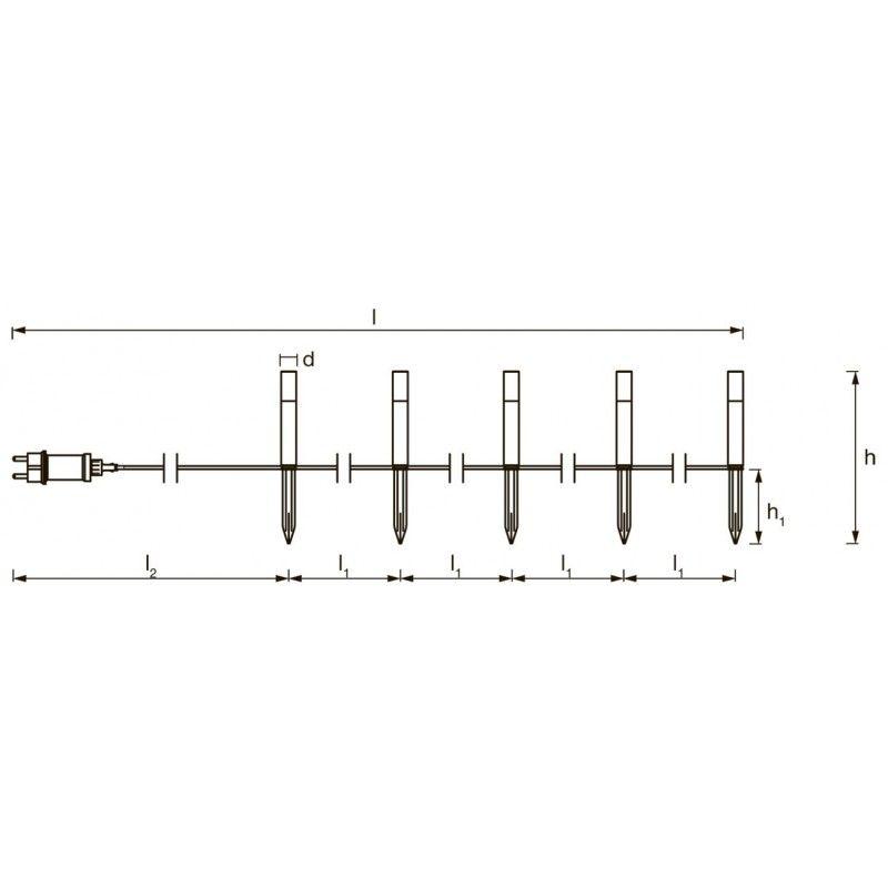 Lámpara LED QR111 30W con Driver Externo