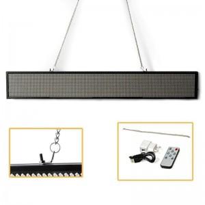 Enseigne LED programmable par USB 1263x75mm