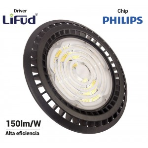 Suspension LED industrielle UFO 200W