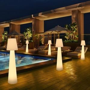 Lampadaire extérieur LED rechargeable