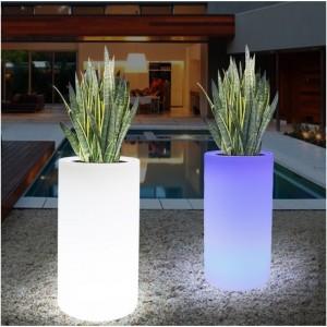 Cache-pot LED RGBW