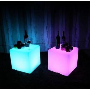Cube lumineux LED RGBW