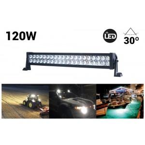 Rampe LED de travail pour 4x4 120W 30º 570mm