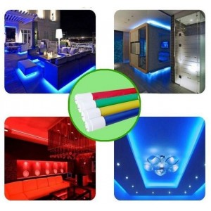 Tube LED de couleur