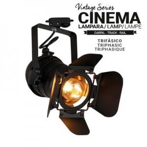 projecteur cinema rail triphasé