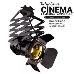 projecteur cinéma rail monophasé