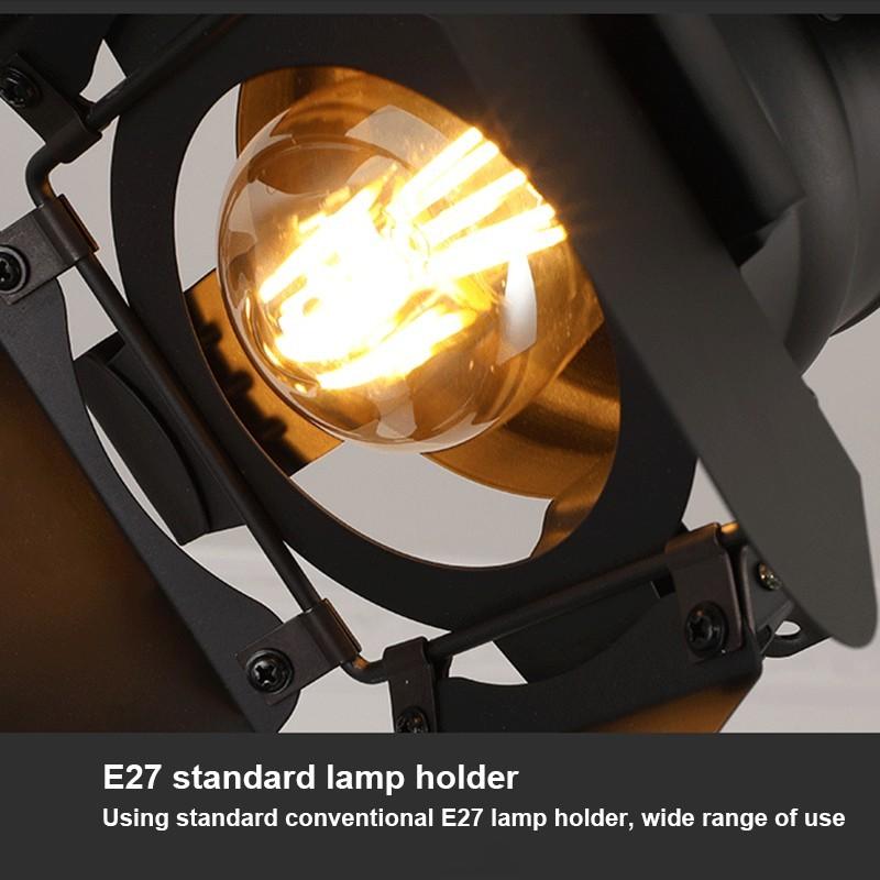 Bombilla LED de Filamento Vintage G125 4W gold