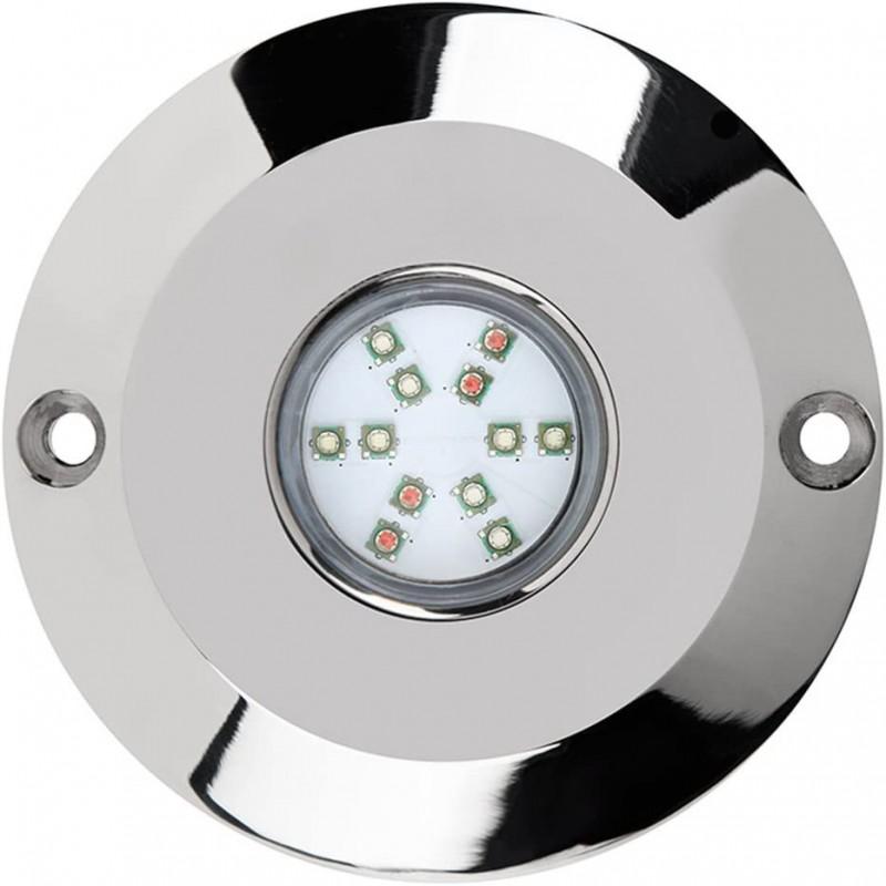 Lèche-mur LED d'extérieur encastrable 12W 12V IP67, BLANC CHAUD