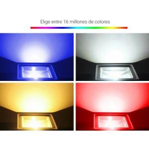 Projecteur LED 50W RGB + CCT Contrôle WIFI