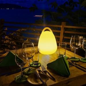 lampe de table rechargeable