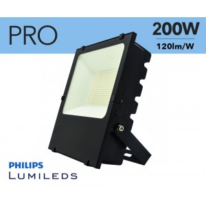 Projecteur LED 200W puces Philips IP65