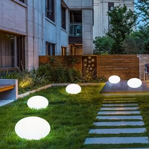 Boule lumineuse de jardin LED RGBW sans fil 1,2W IP65