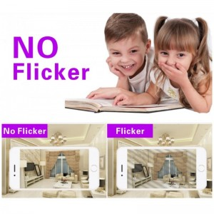 flicker ampoule LED