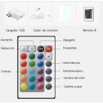 Applique E27 Noire diffuseur Opale design italien