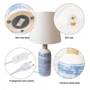"Lampe de table en céramique ""SEA"""