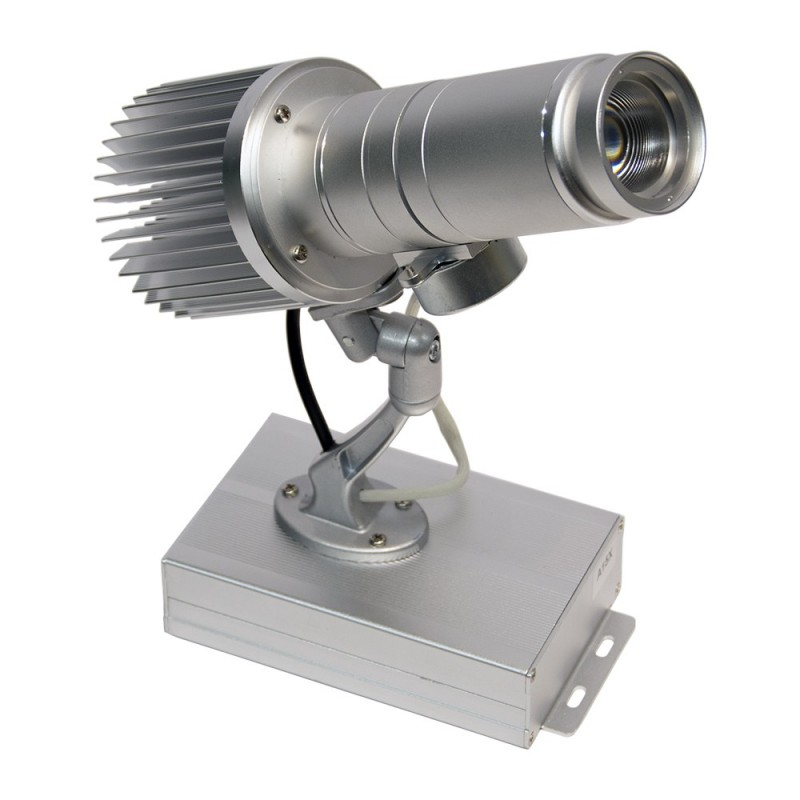 Projecteur de logos LED rotatif 15W IP30