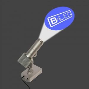 Projecteur de logos LED rotatif 15W IP30
