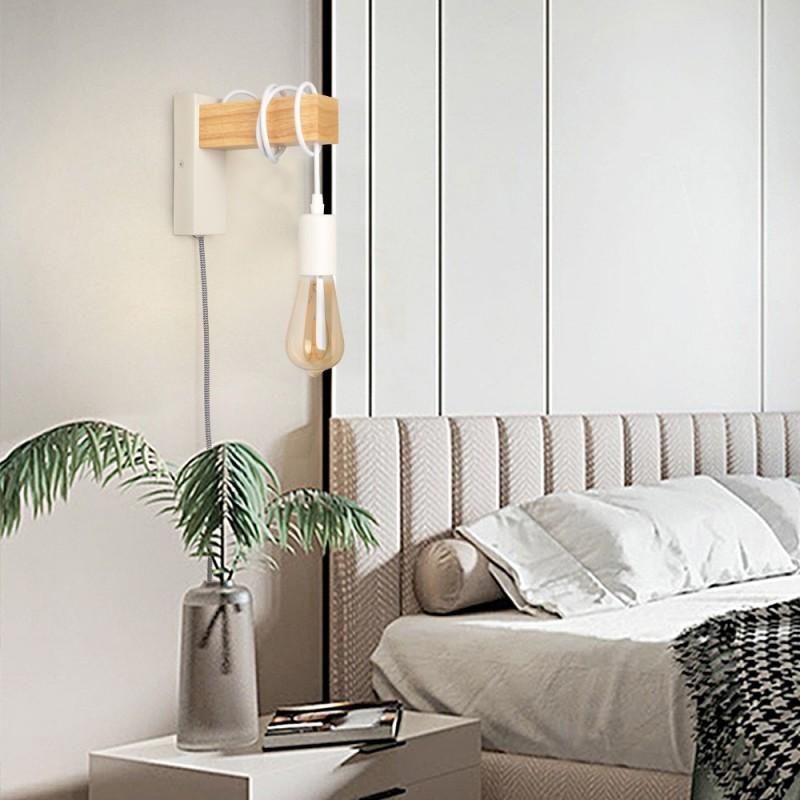 Lampe Kolmio de style nordique Blanc