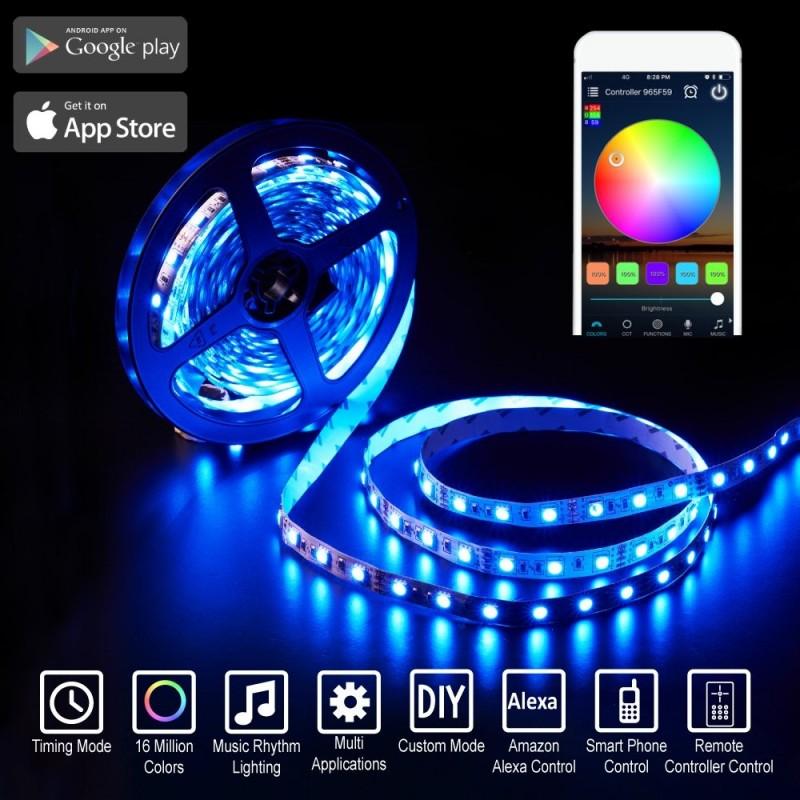 Boule lumineuse LED RGBW 30cm