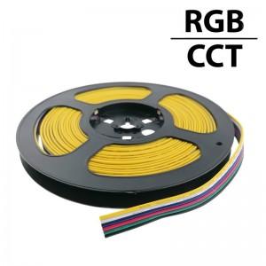 Câble électrique 6 fils