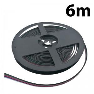 Câble ruban led 5 fils 12-24V DC