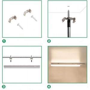 installation reglette LED pour meuble