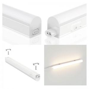 Vente réglette LED T5 60cm 8W Opaque au meilleur prix sur B-LED France