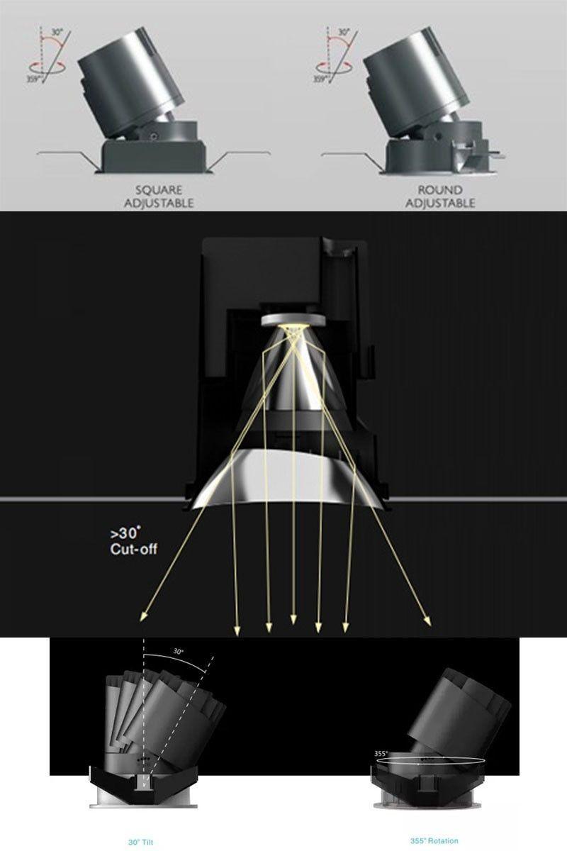 Barre Linéaire LED suspension 40W 120cm