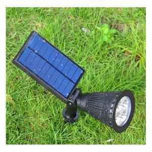 spot avec panneau solaire