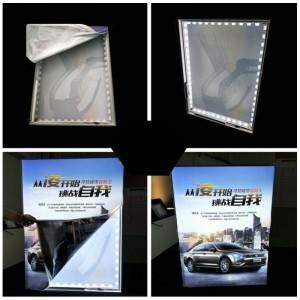 Profilé en aluminium de surface d'angle à 45º de 16x16mm