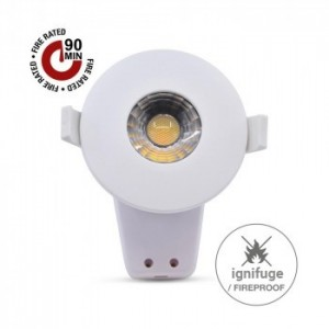 Acheter Spot LED encastrable 8W ignifuge RT2012/BBC