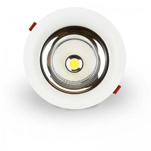 Spot Downlight LED Circulaire 50W COB