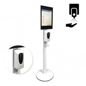 """Distributeur automatique de gel avec afficheur LCD 21,5"""""""