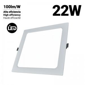 Downlight LED carré