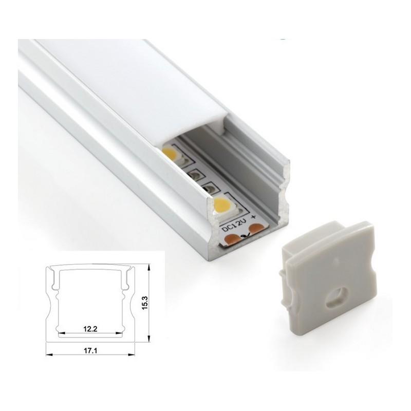 Profilé aluminium de surface