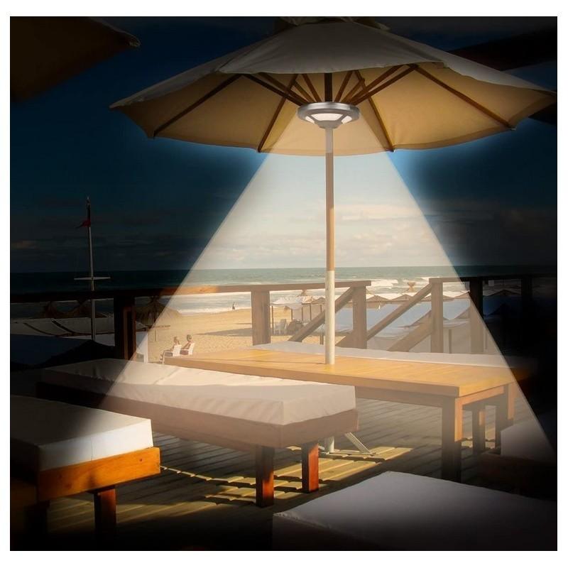 lampe pour parasol