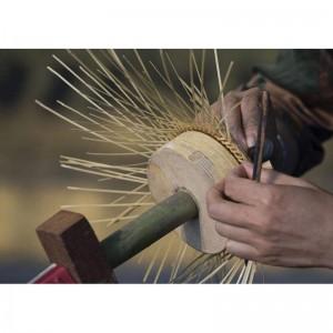 fabrication lampe osier