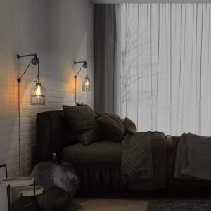 éclairage chambre vintage