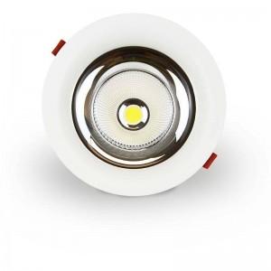 Spot encastrable LED 30W spécial boucherie