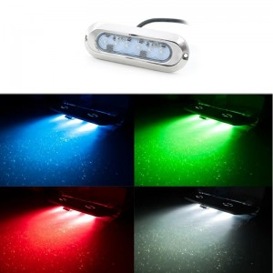 Projecteur LED RGB slim...