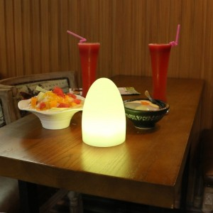 éclairage de table rechargeable