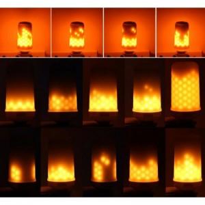 lampe led blanc très chaud flamme