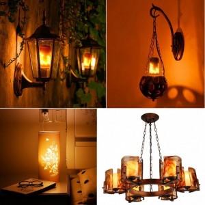 ampoule led décorative flamme