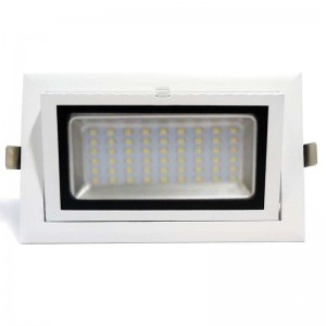 Spot LED encastrable basculant 38W